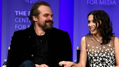 Millie Bobby Brown had the best response to David Harbour teasing Stranger Things spoilers