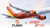 越捷航空成Team Flash贊助商 解決選手國內外交通需求