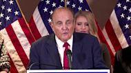 Hair dye don't lie: Giuliani sweats election results
