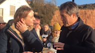 Hugh Grant Campaigns for Independent Claire Wright to Topple Tory Hugo Swire in East Devon