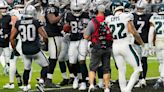 Raiders' offensive line dominant in win over Eagles
