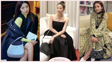 《女神降臨》文佳煐、朴信惠都在背!PRADA皮革腋下包太美,韓國女星全在曬!   美人計   妞新聞 niusnews