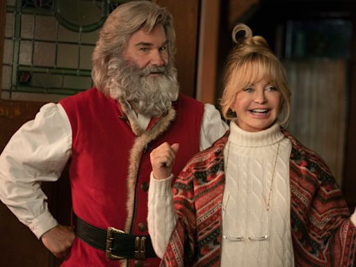 Kurt Russell, Goldie Hawn celebrate 'Christmas Chronicles 2' and a new grandbaby with a 'great' due date