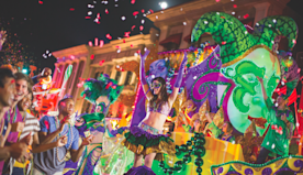 At Universal Orlando's Mardi Gras, The Good Times Are Still Rolling