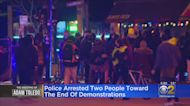 Two Arrested Toward End Of Friday Night Protest March Over Adam Toledo Shooting