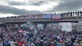 Fuerte jornada de paro nacional en Guatemala en contra del presidente Alejandro Giammattei