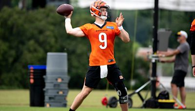 Joe Burrow cleared for everything in training camp