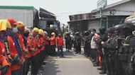 Indonesia workers protest against 'exploitative' new law