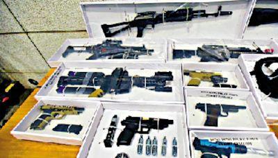 涉網售黑暴武器 浸大生一家四口被捕