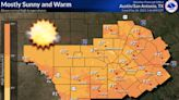 Thunderstorms expected in the Austin area this week, bringing first rain in six weeks