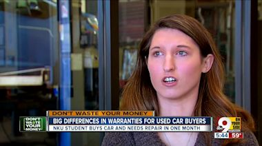 Buying a used car? Know what the warranty covers