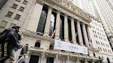 Stocks fairly flat to finish up a topsy-turvy week