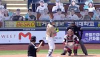 Every sport should have cardboard cutout fans like Korean baseball