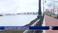 Boston battling climate change, rising sea levels
