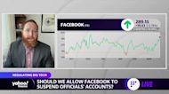 Should Facebook let Trump back on?