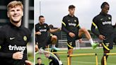 Werner and Havertz back in Chelsea training after Covid cuts short Ireland camp