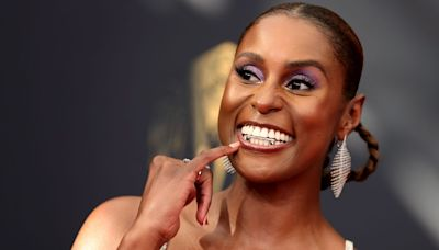 Issa Rae's Legs Are The Real Star Of Her Sparkly, See-Through Emmys Look