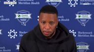 Saquon Barkley doesn't provide timetable of return from injury | Giants News Conference