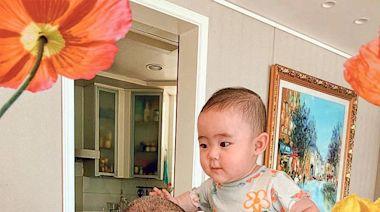 與7個月大貝貝共度首個父親節幸福滿滿 82歲劉詩昆被愛女冧到無法自拔 - 20210619 - 娛樂