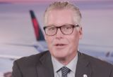 """Delta Air Lines CEO: """"We've never seen anything close to managing through the challenges of the pandemic"""""""