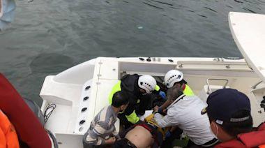 頭城烏石港一字堤現長浪 2釣客被大浪打落海 | 蘋果新聞網 | 蘋果日報