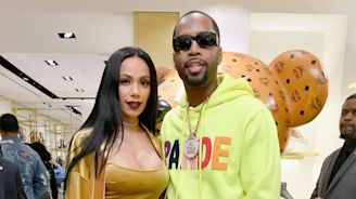 "Erica Mena Gifts Safaree A ""Daddy"" Stamped Rose Gold Cuban Link"