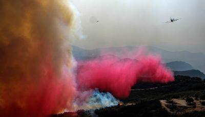 Firefighters make progress coralling big California wildfire