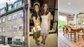 Kate and Pippa Middleton's former Chelsea home is on the market for £1.95m