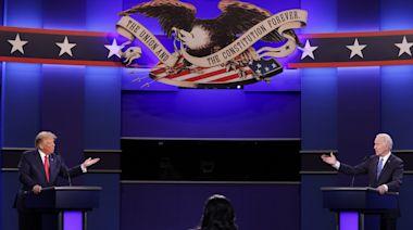 Trump, Biden spar in combative but less vitriolic presidential debate