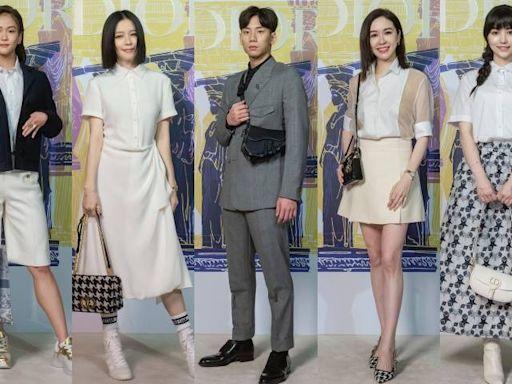 徐若瑄穿DIOR 2022早春系列扮希臘女神,新歌卻遭兒子吐槽「我覺得還好」