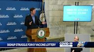 Odds of winning Kentucky's vaccine lottery are better than Ohio's