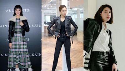 皮衣外套怎麼穿?孟耿如、隋棠、宋米秦示範給你看,7種造型跟著穿都變美