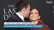 Jennifer Lopez Shares Behind-the-Scenes Photos from Last Duel Premiere with Ben Affleck