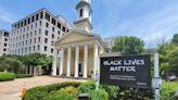 聖約翰教堂聲明「黑人的命也是命」 掛橫幅明確立場