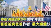 穆迪:美股恐跌20% 《富爸爸窮爸爸》作者:史上最大崩盤快殺到! | BusinessFocus