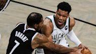The Milwaukee Bucks defeat the Brooklyn Nets