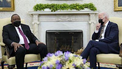 Biden discusses 'transparency' with Kenya president