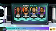 Fantasy Football Week 3 - Active/Inactives
