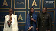 Original Song - H.E.R. from 'Judas And The Black Messiah' Backstage Oscar Speech