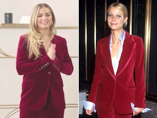 Gwyneth Paltrow Recreates '90s Tom Ford Suit for Addison Rae and Gives Her Advice About Fame