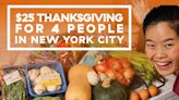 Yes, You Can Cook A Thanksgiving Spread For 4 On A $25 Budget