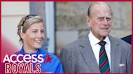 Sophie, Countess Of Wessex Tears Up Reflecting On Prince Philip's Death: He 'Left A Giant-Sized Hole In Our Lives'