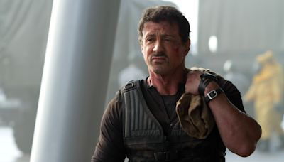 Sylvester Stallone Teases Upcoming 'Expendables 4' With Barney New Ring