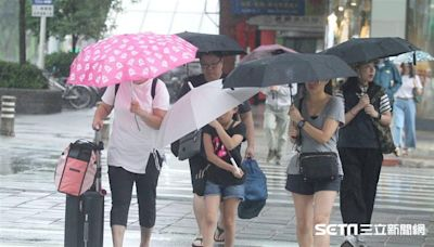 午後對流「強降雨」襲!14縣市大雨特報 當心雷擊強陣風