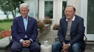 Former President Bill Clinton and author James Patterson talk about new book