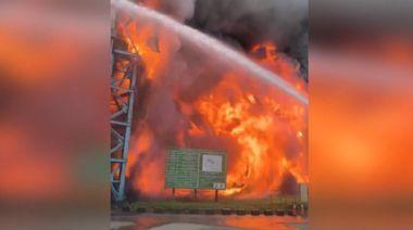 5年來燒好幾次! 中火電廠生煤輸送帶燒276公尺