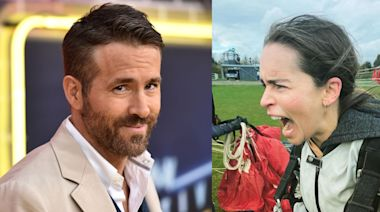 "Emilia Clarke Jumped Out of a Plane After Ryan Reynolds ""Moved"" Her Birthday"