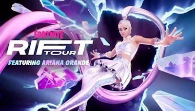 Ariana Grande to Headline Fortnite 's In-Game 'Rift Tour' Concert Series