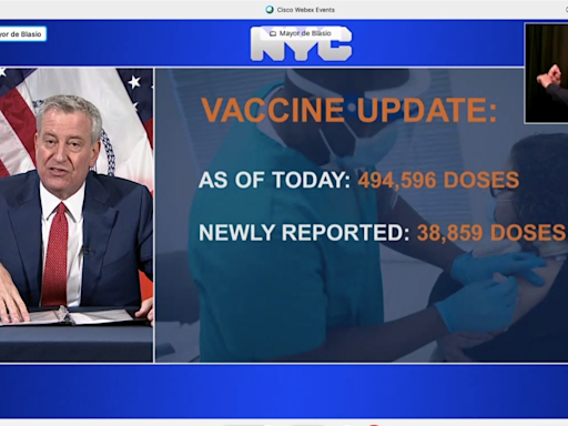 NYC Cancels 23K Coronavirus Vaccine Shots Amid Supply Woes