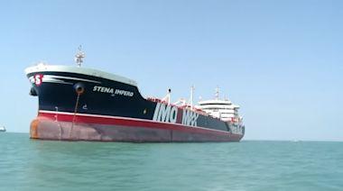 UK tanker held in Iran heads for international waters